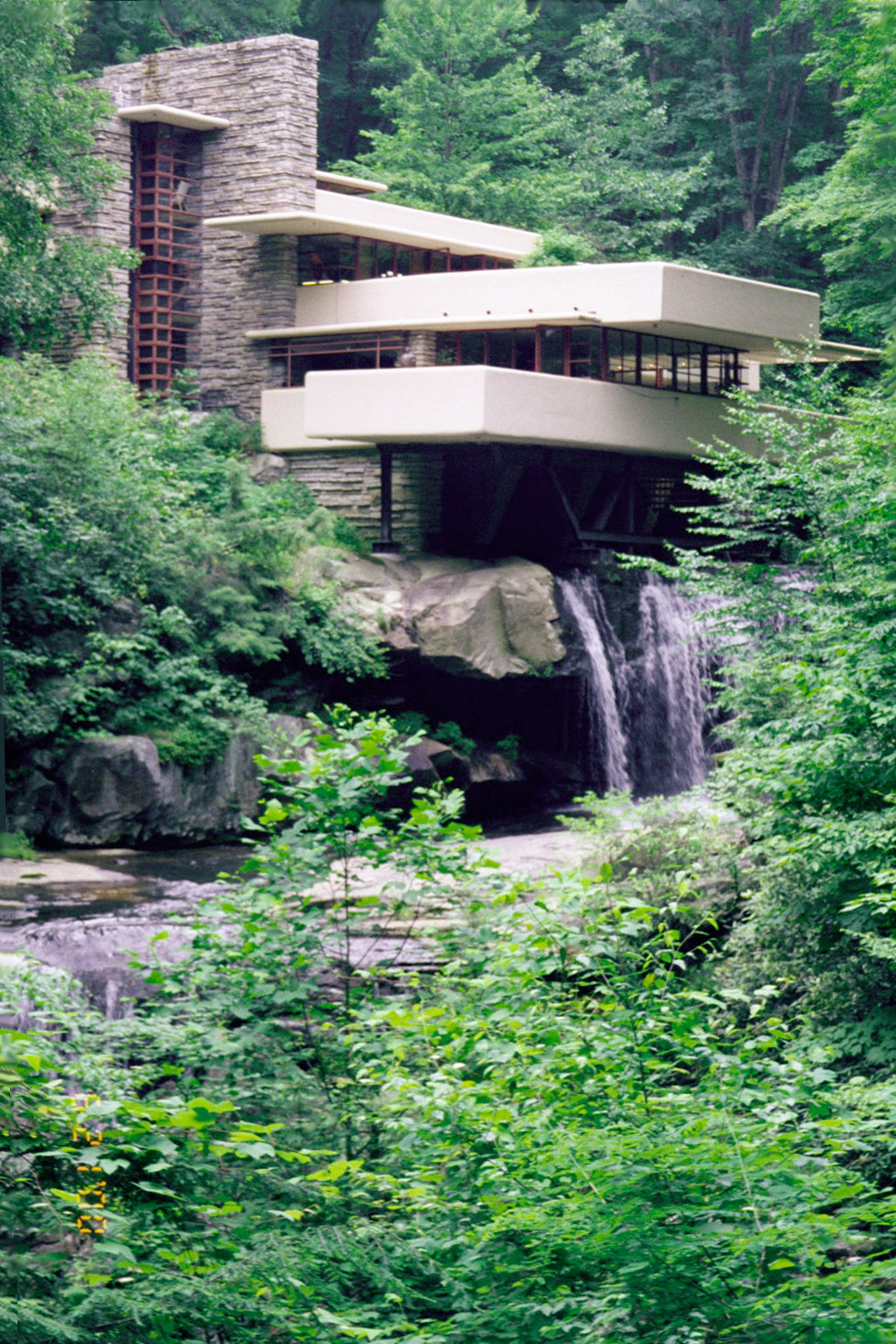 Large Fallingwater Photos Traditional Classic View