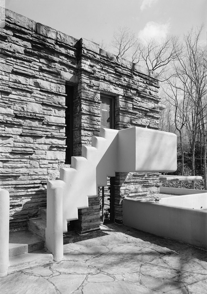 [stairs To West Terrace, Fallingwater]