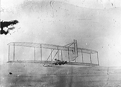 Wright brothers history: First Airplane Flight, 1903