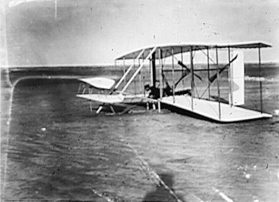 Wright brothers the fist plane pity, that