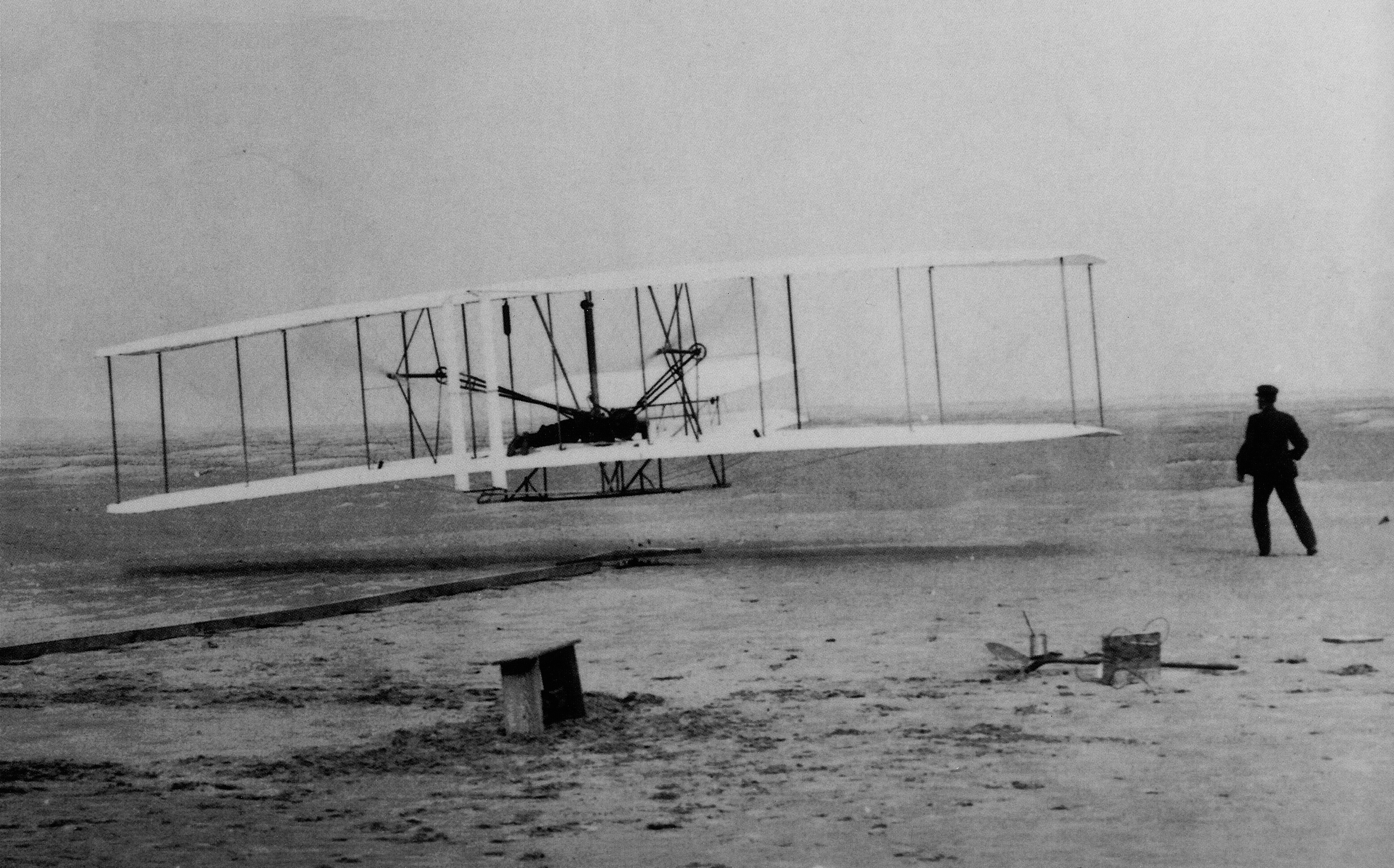 First Wright Brothers Flight in large photos of the wright brothers first airplane flight
